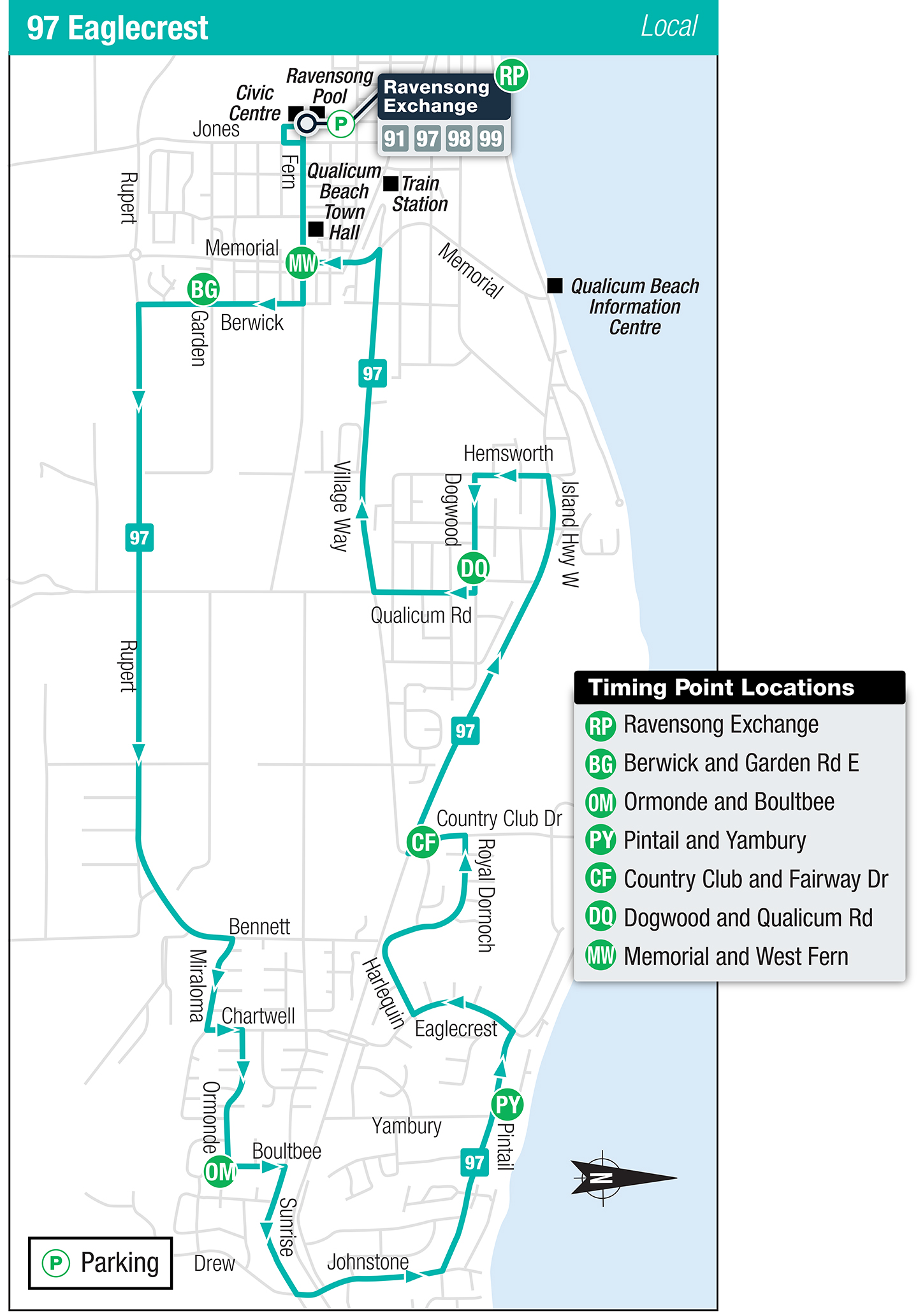 Nanaimo Bus Schedule