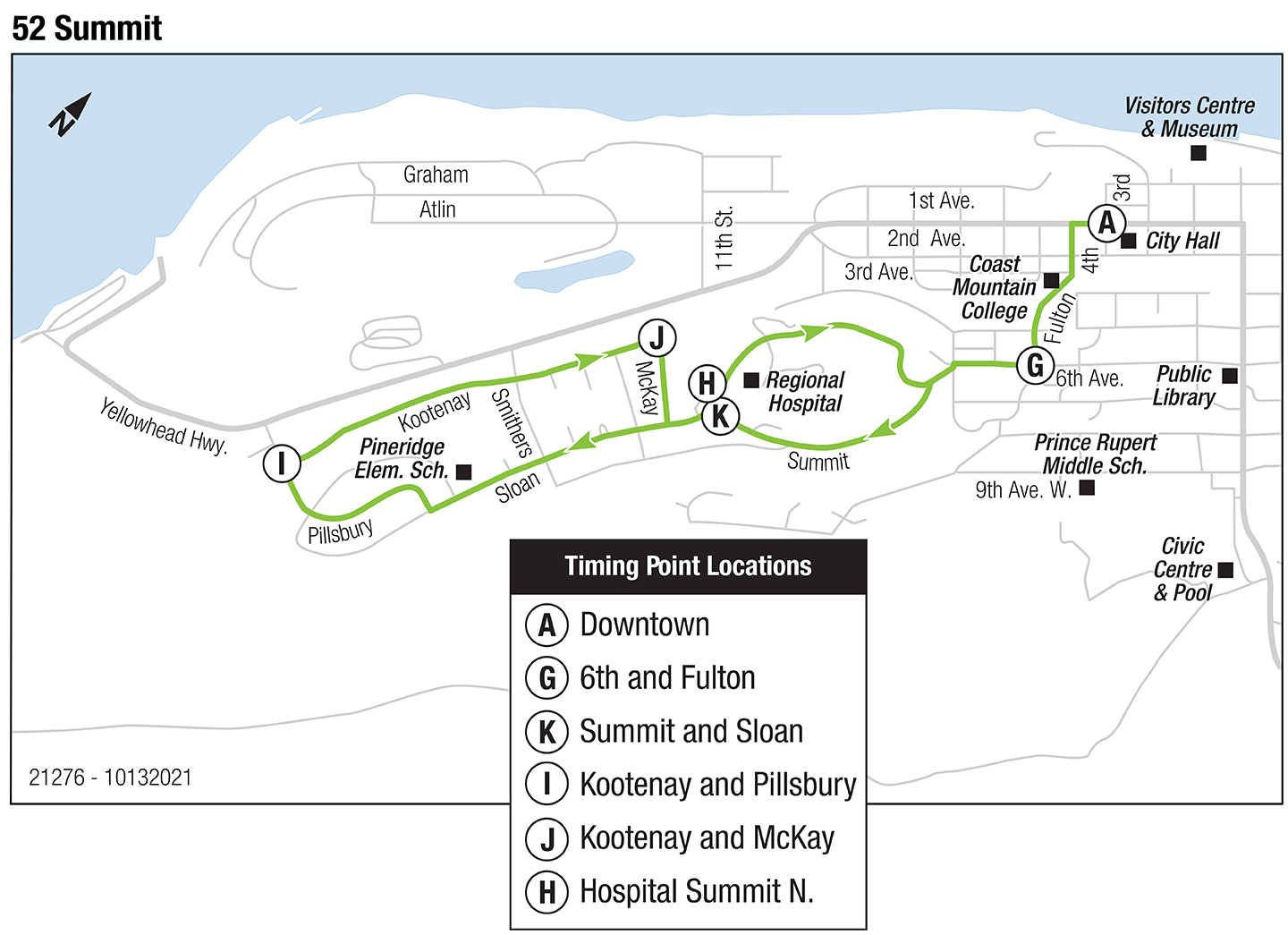 bc transit - route overview